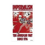 """""""Imperialism"""" Sticker (Rectangle 10 pk)"""