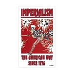 """""""Imperialism"""" Sticker (Rectangle)"""