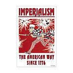 """Imperialism"" Mini Poster Print"