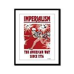 """Imperialism"" Framed Panel Print"