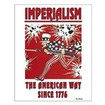 """""""Imperialism"""" Small Poster"""