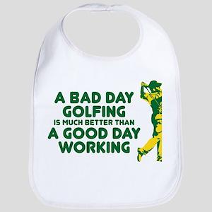 A Bad Day Golfing Bib