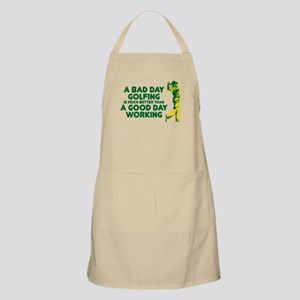 A Bad Day Golfing Apron