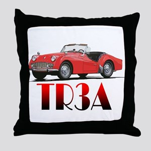 The TR3A Throw Pillow