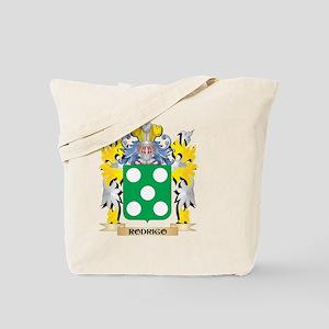 Rodrigo Family Crest - Coat of Arms Tote Bag