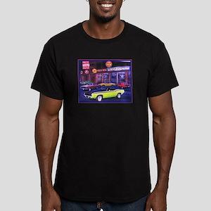Mopar Madness Car Dealer Men's Fitted T-Shirt (dar