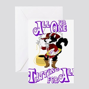 All For One, Tatting For All Greeting Card