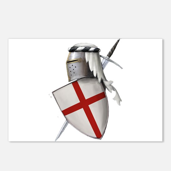 Shield of Saint George Postcards (Package of 8)