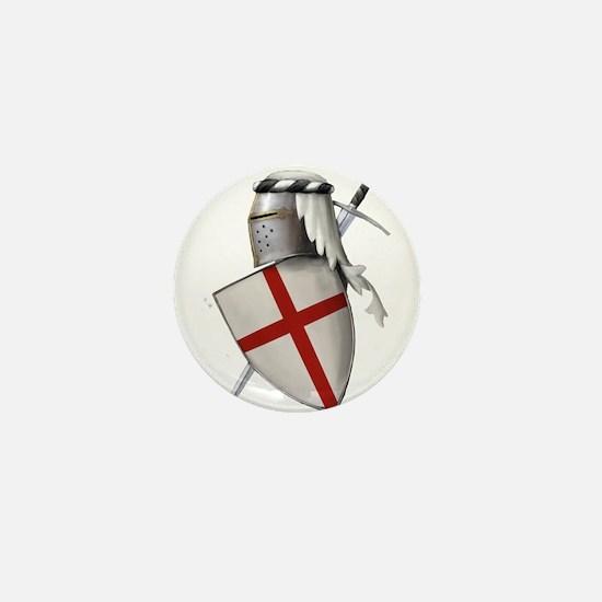 Shield of Saint George Mini Button