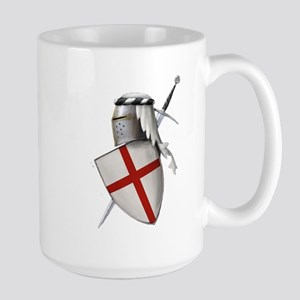 Shield of Saint George Large Mug