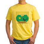 Bird in a Fishbowl Yellow T-Shirt