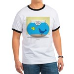 Bird in a Fishbowl Ringer T