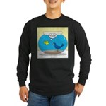 Bird in a Fishbowl Long Sleeve Dark T-Shirt
