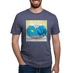 Bird in a Fishbowl Mens Tri-blend T-Shirt