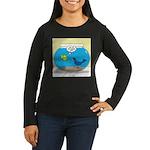 Bird in a Fishbow Women's Long Sleeve Dark T-Shirt