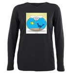 Bird in a Fishbowl Plus Size Long Sleeve Tee
