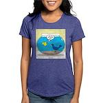 Bird in a Fishbowl Womens Tri-blend T-Shirt