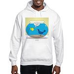 Bird in a Fishbowl Hooded Sweatshirt
