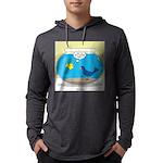 Bird in a Fishbowl Mens Hooded Shirt