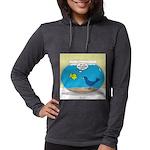 Bird in a Fishbowl Womens Hooded Shirt