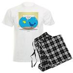 Bird in a Fishbowl Men's Light Pajamas