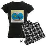 Bird in a Fishbowl Women's Dark Pajamas