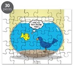 Bird in a Fishbowl Puzzle