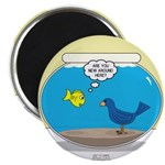 Bird in a Fishbowl Magnet
