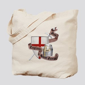 England and Saint George Tote Bag