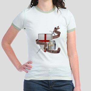 England and Saint George Jr. Ringer T-Shirt