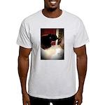 Tuxedo Kitty with Sink Light T-Shirt