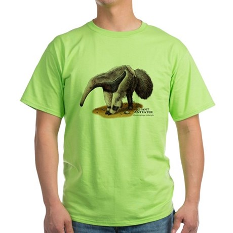 Giant Anteater Green T-Shirt