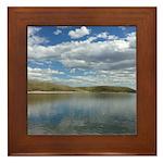 Pine Coulee Alberta Framed Tile