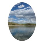 Pine Coulee Alberta Oval Ornament
