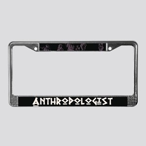 Anthropologist License Plate Frame