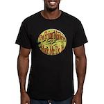 Flying Monkeys Men's Fitted T-Shirt (dark)