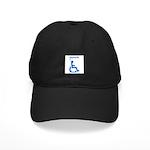 damnit.wheelchair Black Cap