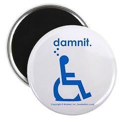 damnit.wheelchair Magnet