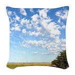 Alberta Skies Woven Throw Pillow