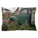 Farm Truck with Flowers Pillow Case