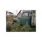 Farm Truck with Flowers 5'x7'Area Rug