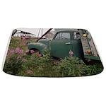Farm Truck with Flowers Bathmat