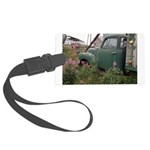 Farm Truck with Flowers Large Luggage Tag