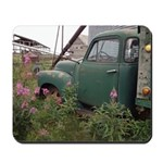 Farm Truck with Flowers Mousepad