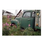 Farm Truck with Flowers Postcards (Package of 8)