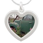 Farm Truck with Flowers Necklaces