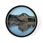Barn Reflection Wall Clock