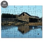 Barn Reflection Puzzle