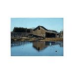 Barn Reflection 5'x7'Area Rug