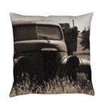 Studebaker With Tree Everyday Pillow